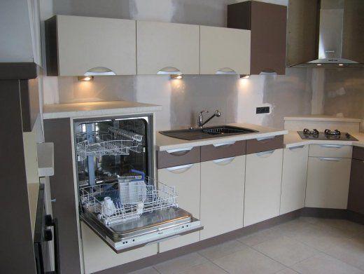 cuisine moderne lave vaisselle compact