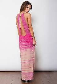 Just need to get my old body back... then worry about getting this one or one just like it! NEW-WOODLEIGH-173-MILA-Tie-Dye-Knit-Open-Back-MAXI-Dress-L-GORGEOUS