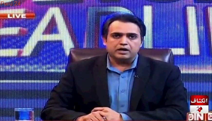 Pakistani News Anchor Died During Live Show News anchor