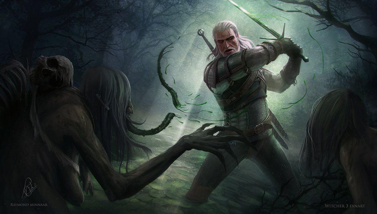 Witcher 3 Fanart By RaymondMinnaar.deviantart.com On