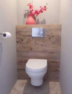 10 façons d\'arranger la déco de ses WC | Pinterest | Gäste wc, Gast ...