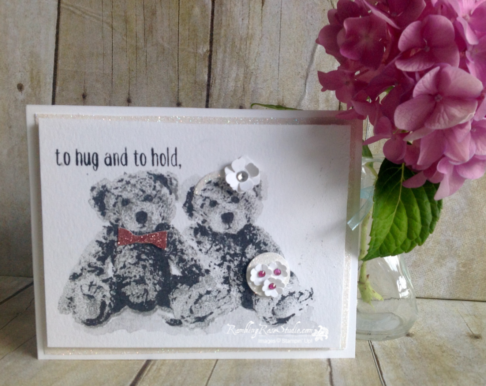 To Hug 'N To Hold... | Rambling Rose Studio | Billie Moan