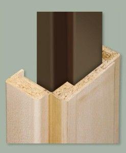Steel doorframe lining
