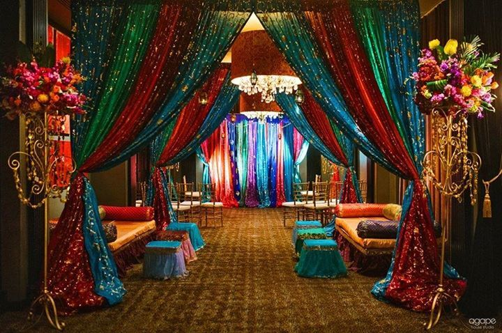 Pin by alicia foster on weddingnparties pinterest decoration backdrops moroccan wedding themepunjabi wedding decorindian junglespirit Gallery