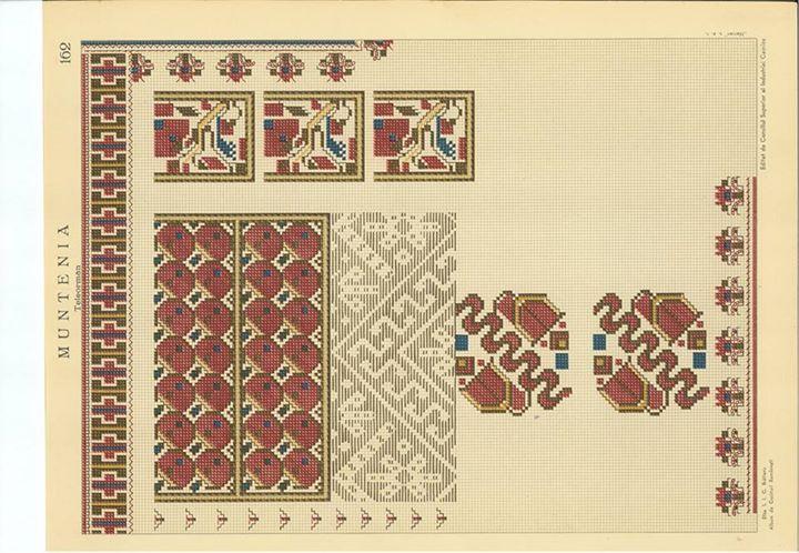 Pin von Lusa Usatova auf Romanian embroidery & patterns | Pinterest