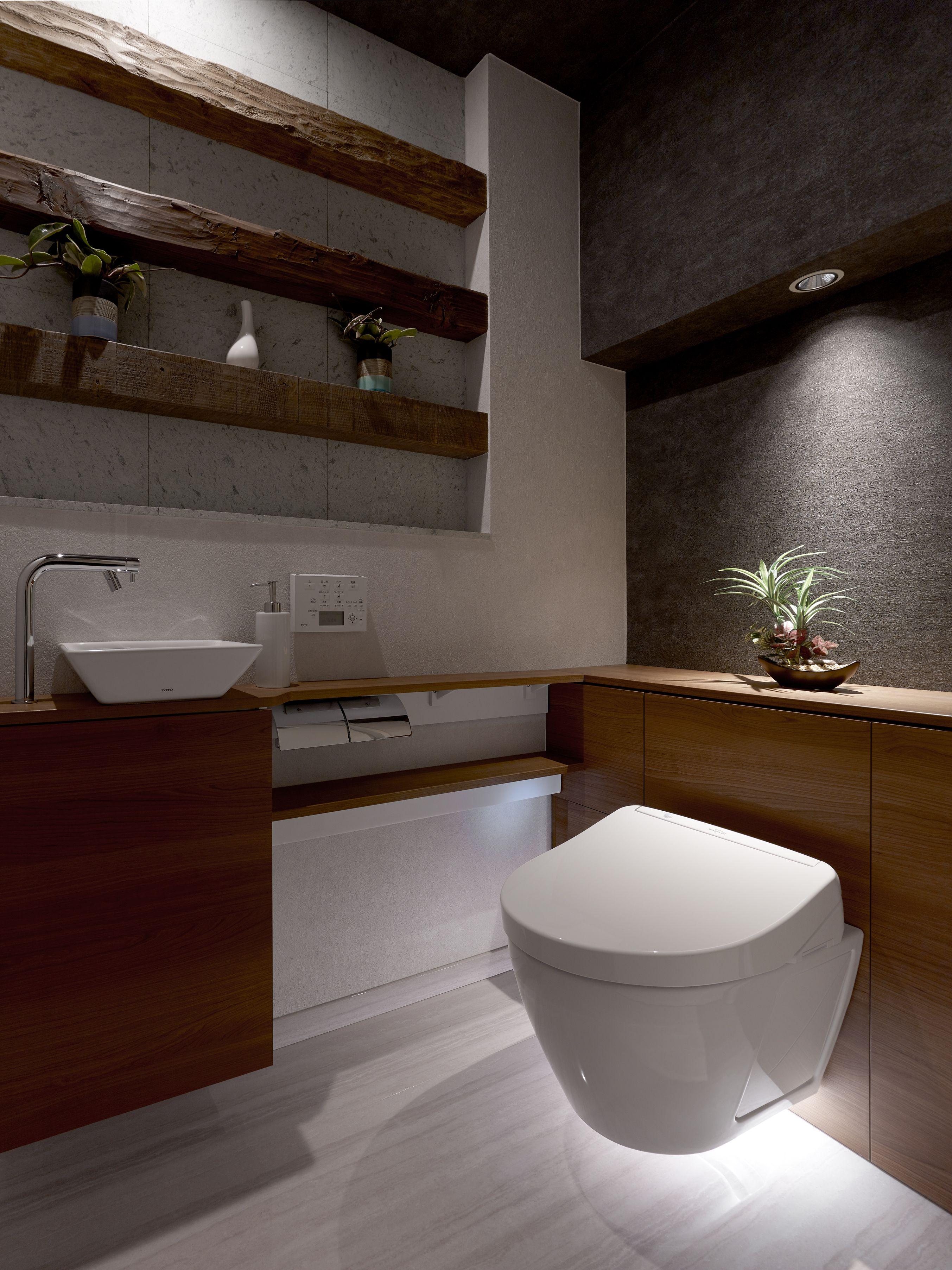 ミサワホームイングデザインリフォーム トイレのリフォーム 天然の