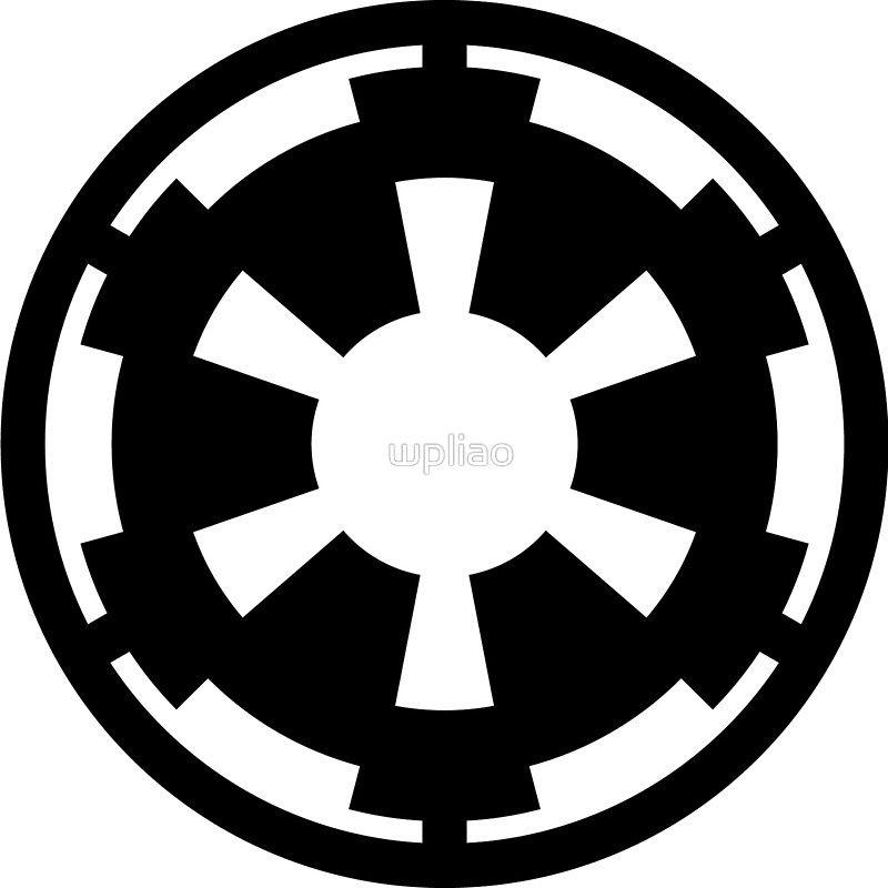 Star Wars Galactic Empire Symbol By Wpliao X Mas Idea Pinterest