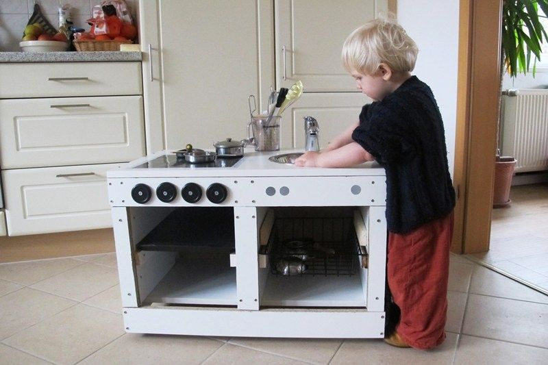 Upcycling Kinderkuche Selber Bauen Diy Recycling Spulmaschine Ikea