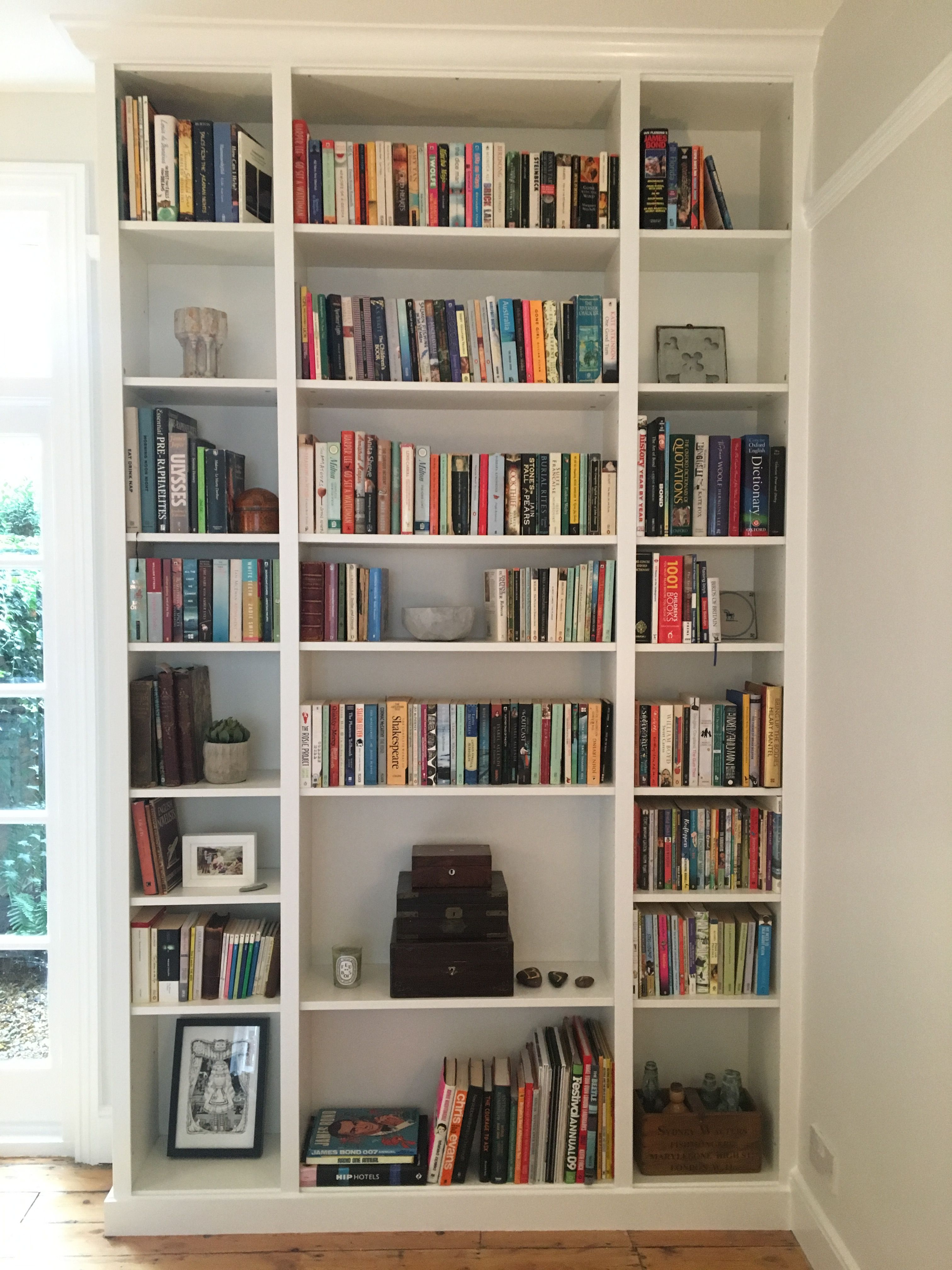 Ikea Hack Done Three Billy Bookcases Projekty Do