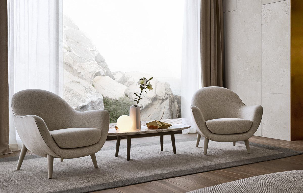Living Room Armchairs MAD QUEEN Poliform   PENTHOUSE FURNITURE ...