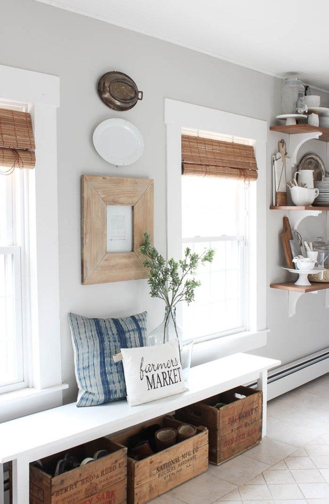 Here are some great farmhouse style kitchens for you to gather inspiration your own home click the blue gray links on each picture see also best neutral paint colors doors interior rh pinterest