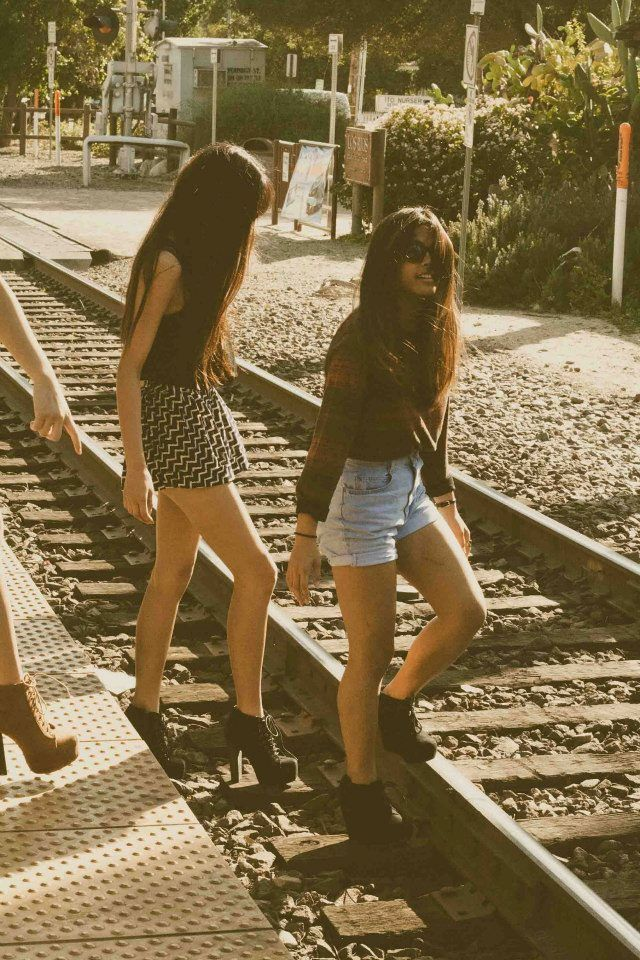 #friends  #traintracks #adventure