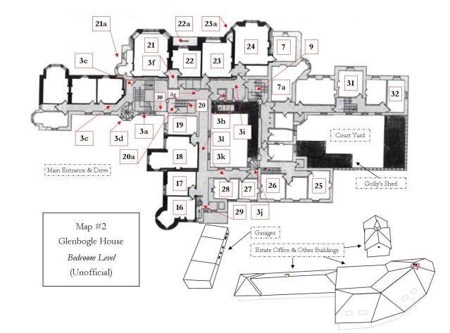 Second Floor Bedroom Level Ardverikie House Glenbogle Castle In Loch Laggan Scotland Uk Map2atbedroo Castle Floor Plan Floor Plans House Floor Plans