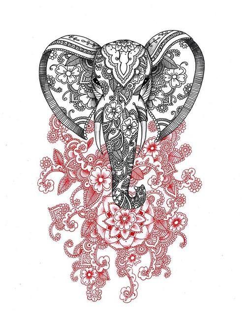 elefante elefantes pinterest tatuagens desenhos para