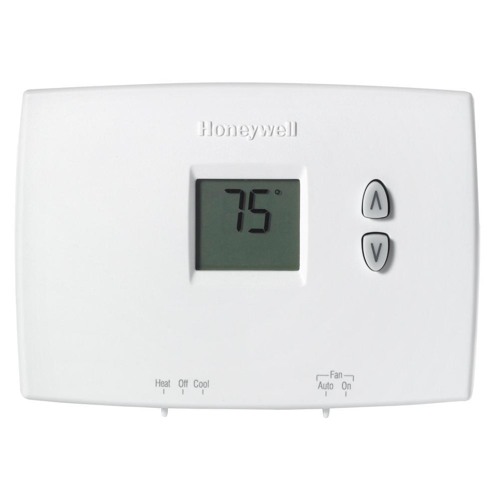Honeywell Home Horizontal Digital Non Programmable Thermostat