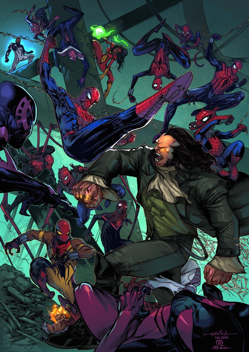Spider-Man Thursday 40 Joey Vazquez colors by SpiderGuile, Colors by Joey Vazquez