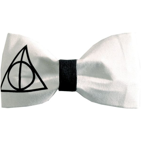 Deathly Hallows Inspired Harry Potter Symbol Hair Bow Or Bow Tie
