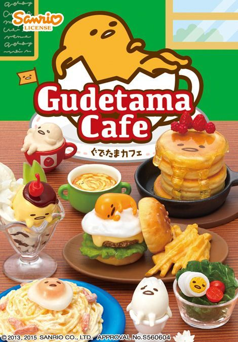 Gudetama Cafe egg restaurant food Re-Ment miniature blind box $10.26 http://thingsfromjapan.net/gudetama-cafe-egg-restaurant-food-re-ment-miniature-blind-box/ #gudetama #sanrio #rement #kawaii miniature #Japanese stuff