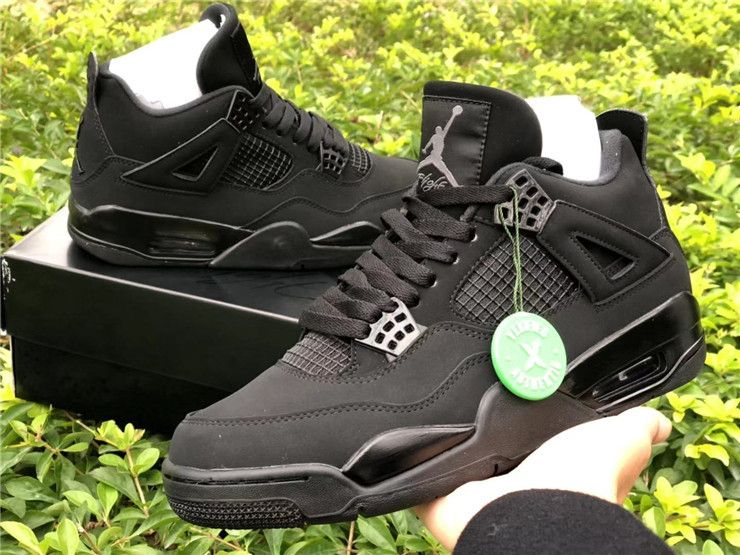 2020 New Air Jordan 4 Retro Black Cat For Sale 1 In 2020 Air Jordans Retro Air Jordans Jordan 4