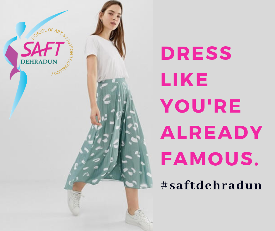 Dress Like You Re Already Famous Make Your Career As Fashiondesigner Join Us Today Www Saftindia Net Saftdehradun Fashion Design Career Fashion Fashion