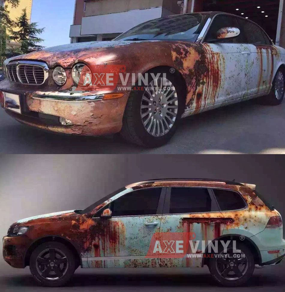 Rusty Camouflage Wrap Vinyl Car Wrap Ideas Car Paint