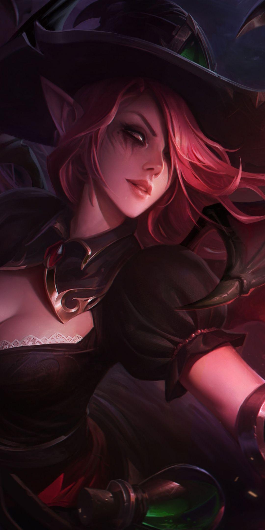 Magician League of Legends, art, 1080x2160