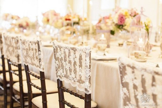 chair caps for weddings - Google Search