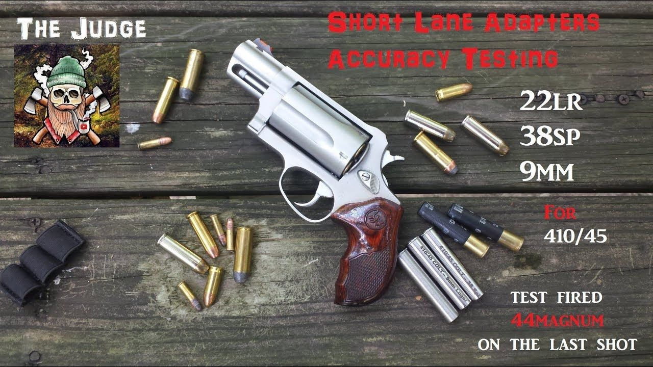 Taurus Judge Short Lane Adapters Accuracy Testing | guns | Taurus