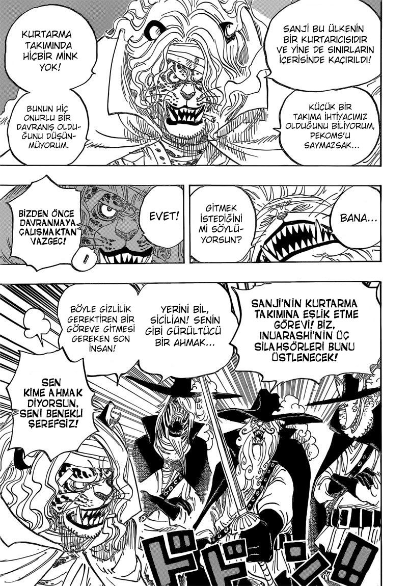 One Piece: Bölüm 822 - Sayfa 10