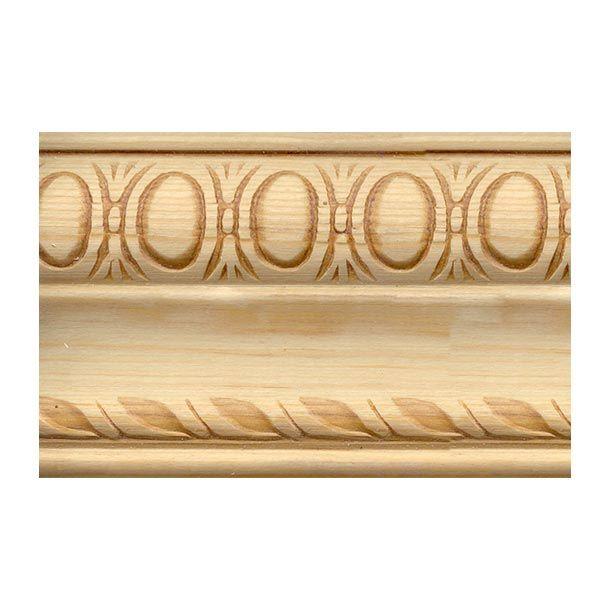 Moldura ornamental de madera ana molduras de madera for Molduras de madera