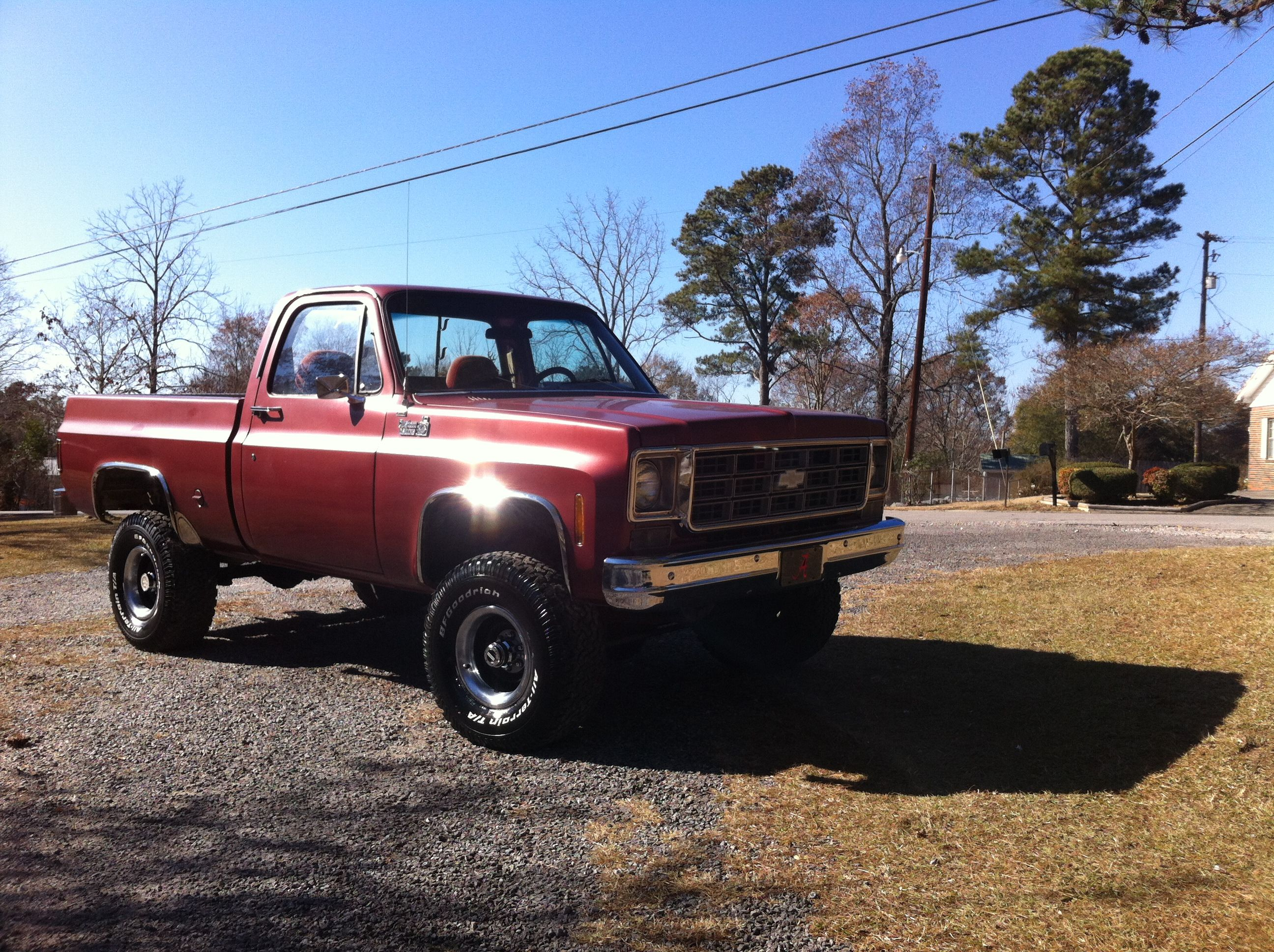 $8000 This 1978 C10 Custom Deluxe truck is in good to excellent ...