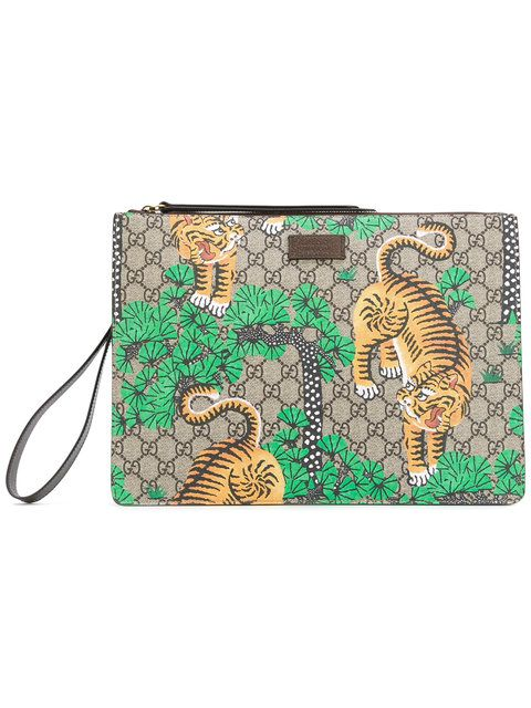 c7c365ffeb08ba GUCCI Bengal Tiger Print Pouch. #gucci #pouch | Gucci Men | Men ...