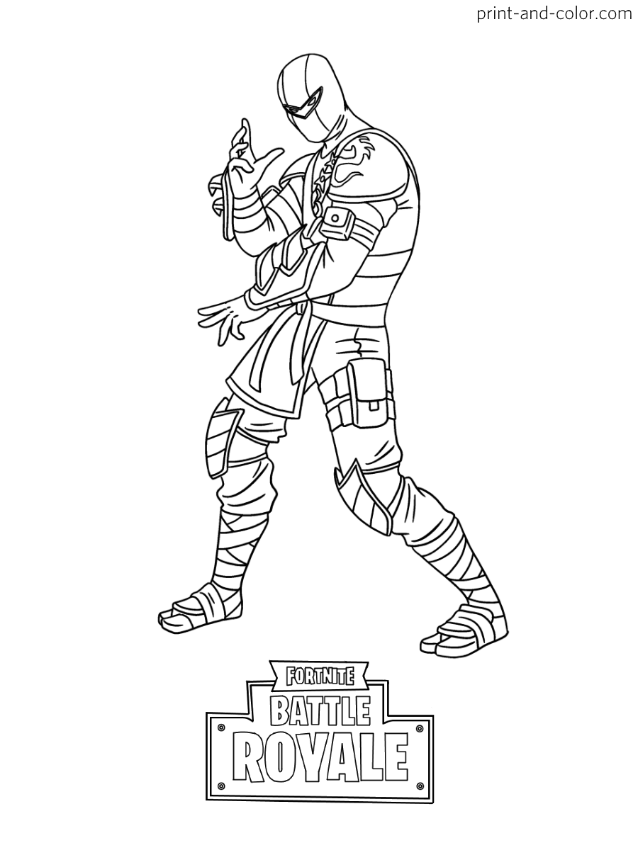 Apply Fortnite Colouring Pages Info