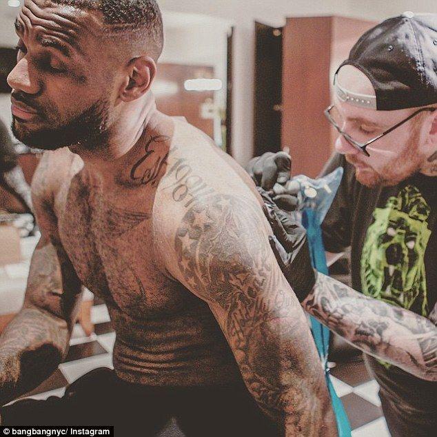 image result for lebron james left arm tattoos tattoo