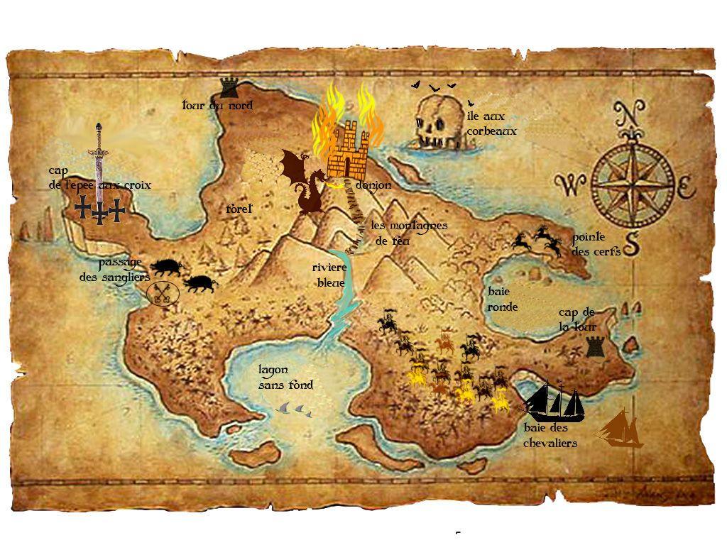 Exceptionnel carte monde imaginaire … | Pinteres… GU98