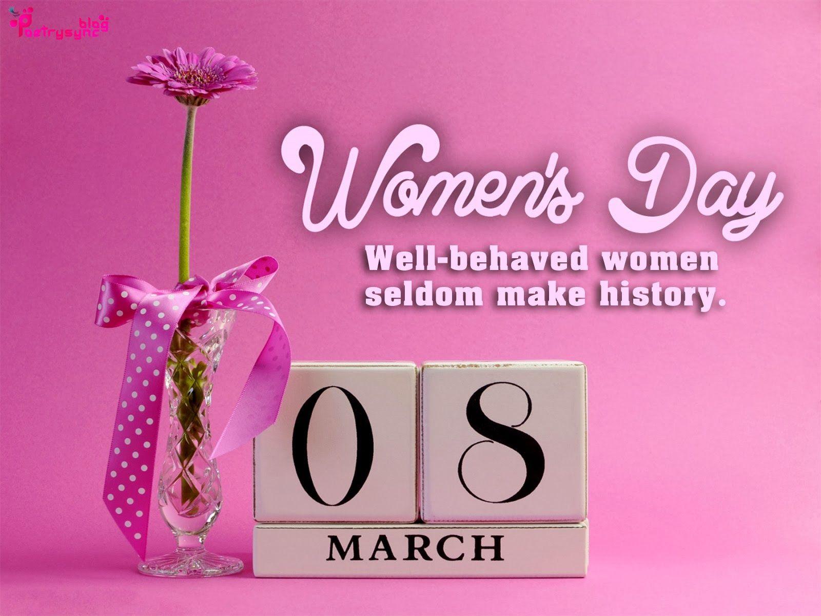 International Women Day Quotes Happy international womens day ...