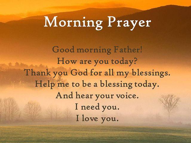 Good Morning How Are U In Spanish : Morning prayer favorite sayings scriptures pinterest