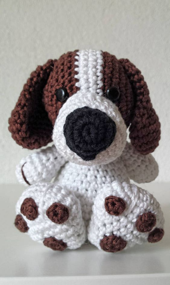 Cute Dog Crochet Pattern. Amigurumi Crochet Pattern. Boris the Tough ...
