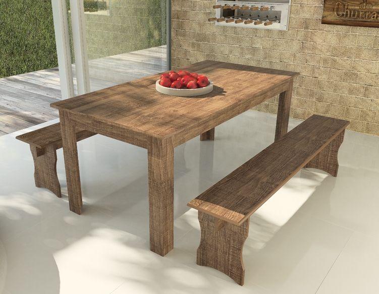 Em nossa linha de móveis com tonalidades rústicas você encontra várias opções de mesas, bancos e cadeiras. http://www.lojasmoveleiro.com.br/