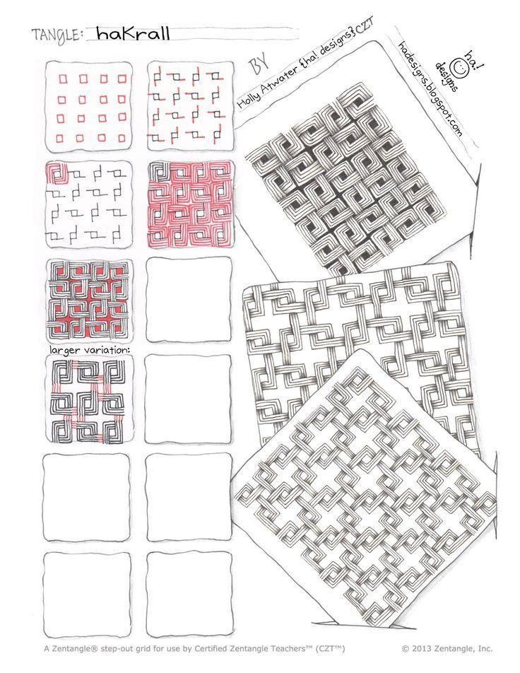Image Result For Hakrall Zentangle Patterns H Zentangle