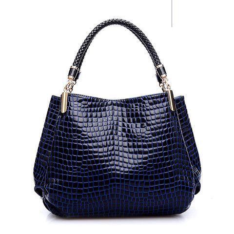 Russian Alligator Pu Leather Handbags