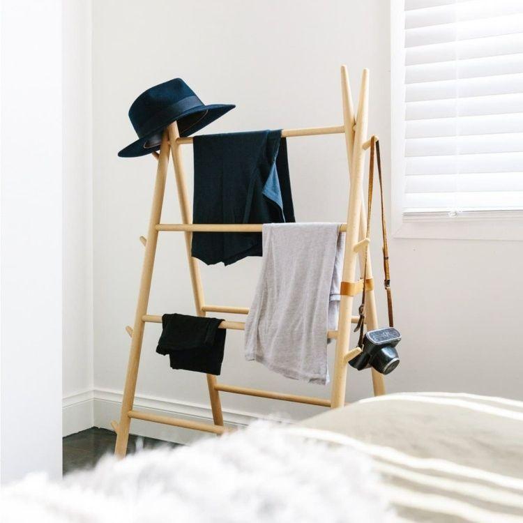 portant v tement original valet de chambre penderie et porte manteau chambre pinterest. Black Bedroom Furniture Sets. Home Design Ideas