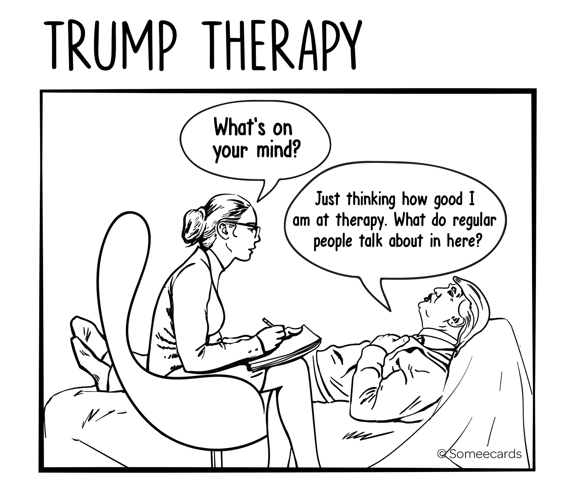 Trump therapy Today s News Entertainment Video Ecards and more