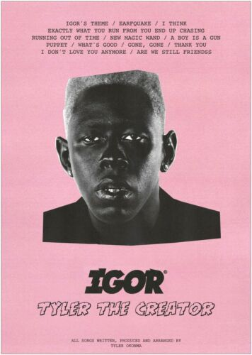 IGOR Tyler The Creator Large Poster or Canvas Art Print Maxi A1 A2 A3 A4 | eBay