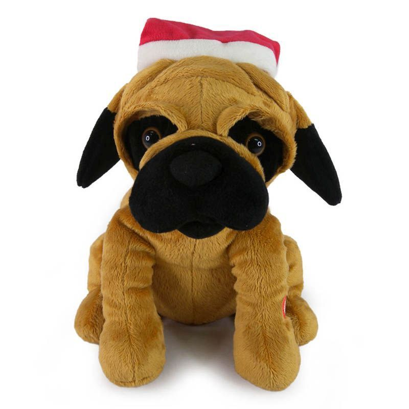 Christmas Pug Dog Buy Online At Qd Stores Online Pet Supplies