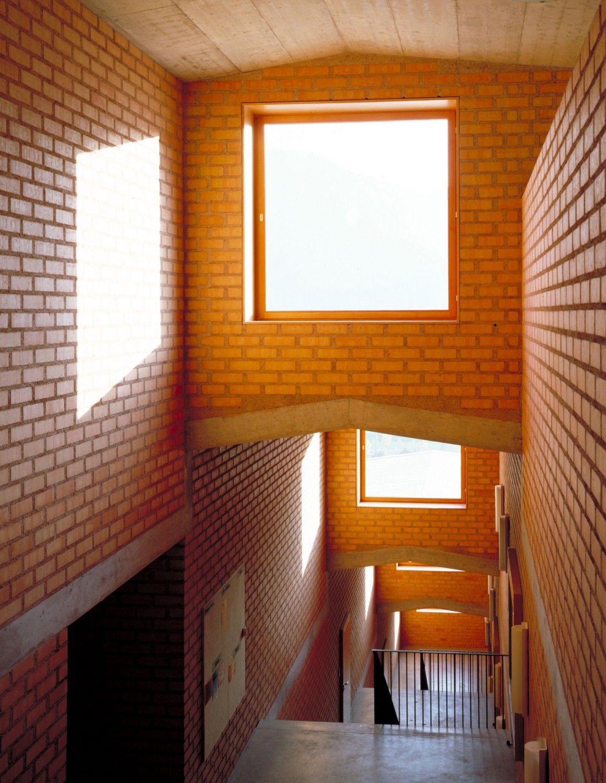 Jngling Und Hagmann Architekten School In Mastrils Switzerland 1995 Primary SchoolArchitecture Interior DesignSchools