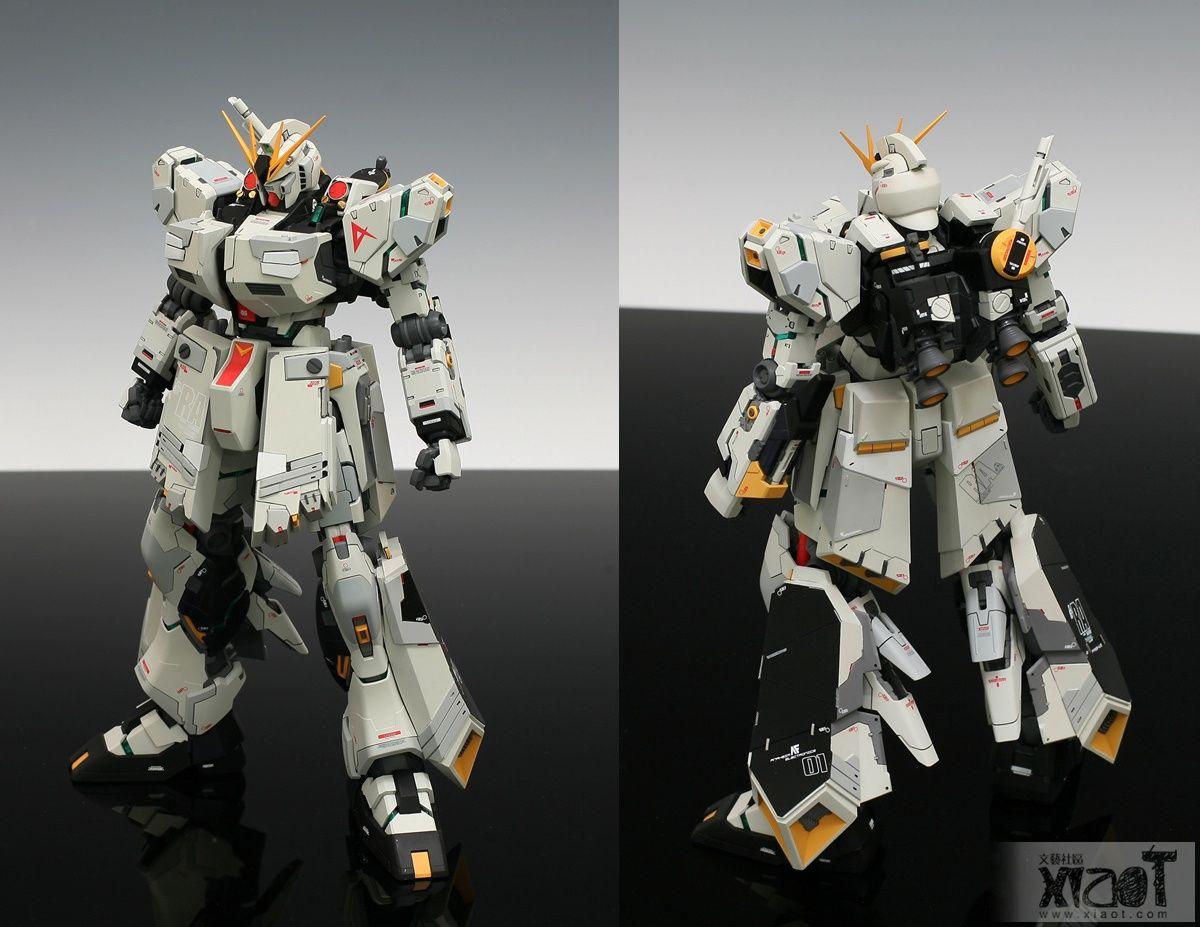 Pin on Nu Gundam