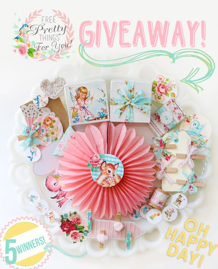 Closed:Pretty Packaging Giveaway-5 winners EASY to Enter #prettypackaging