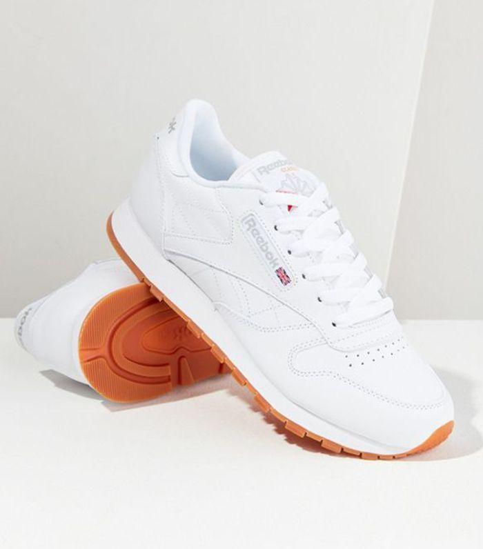 Reebok Classic Leather Women Damen Schuhe Sneaker weiß 2232