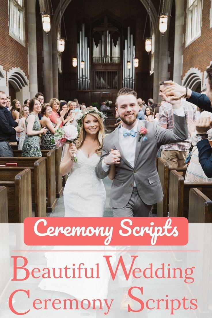 Beautiful wedding ceremony scripts wedding ceremony